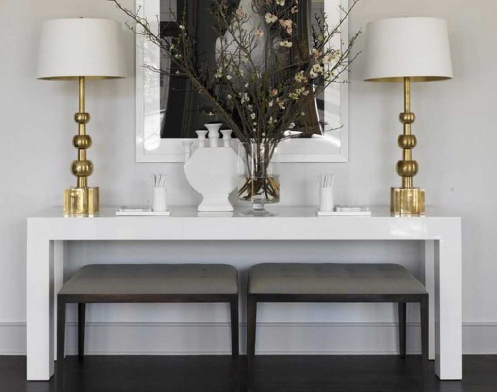 The art of styling console tables