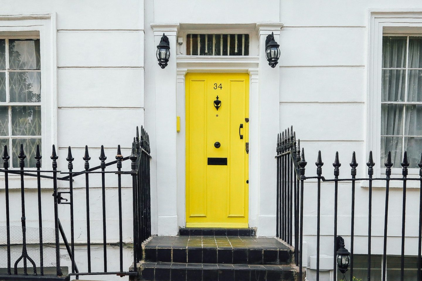 Perfecting Your Entrance with a Bold Front Door