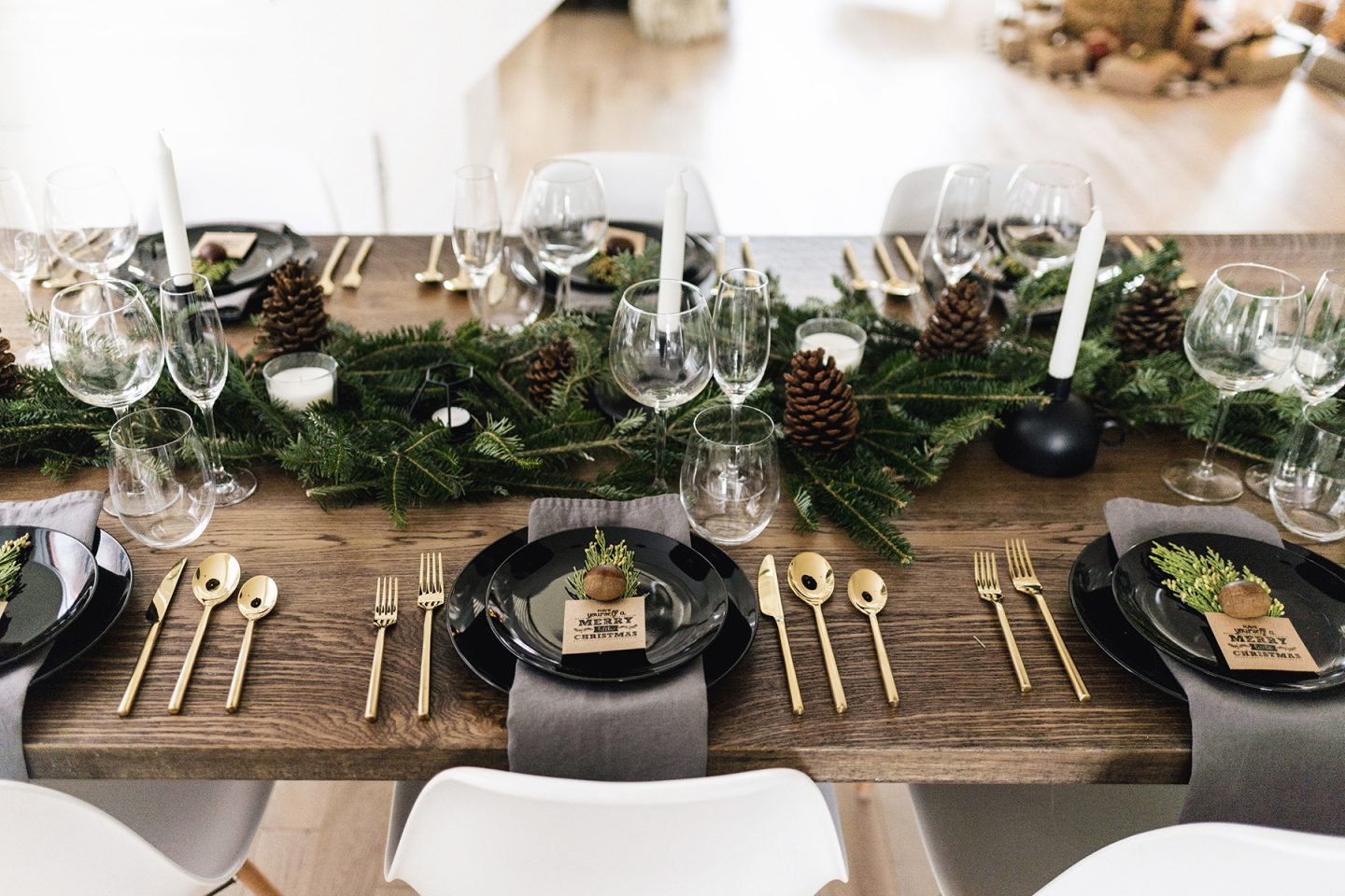 The Art of Styling: Christmas Dining, Preparation