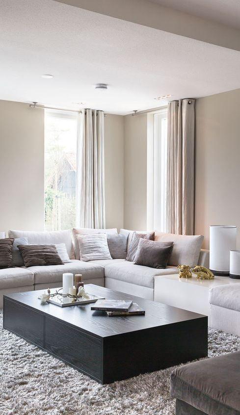 modern warm home