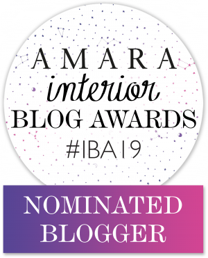 Amara Interior Blog Awards 2019 Nominated