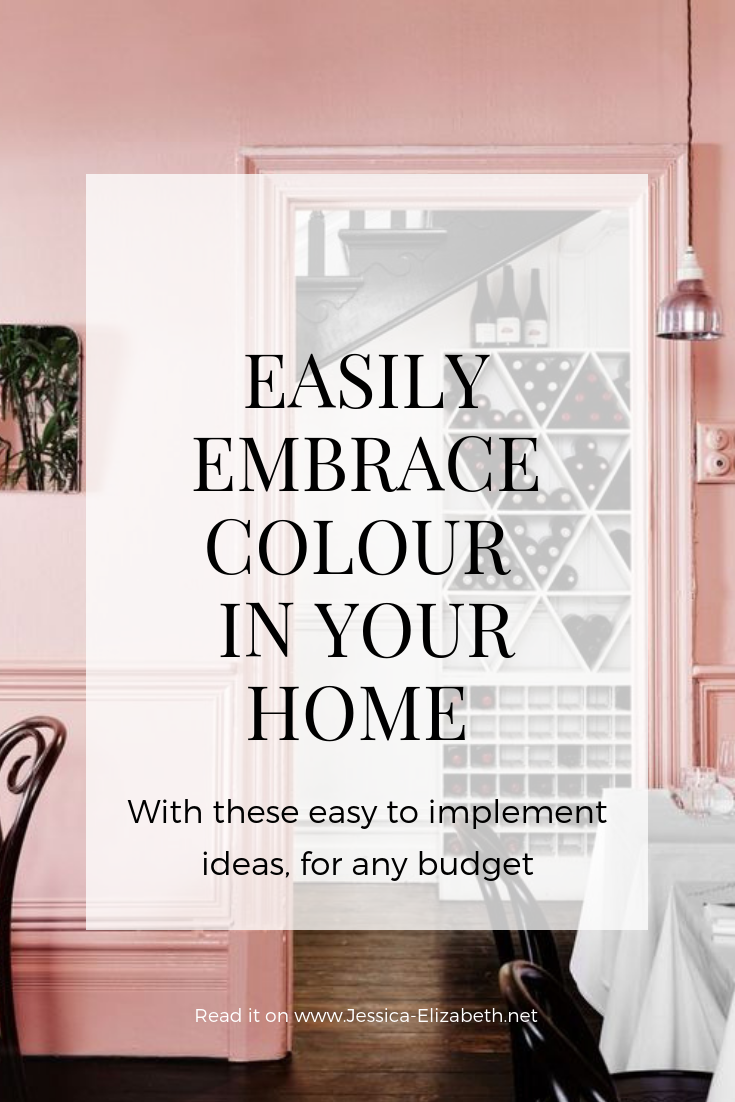 Embrace Colour at Home