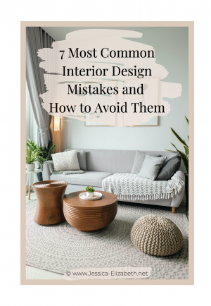 common interior design mistakes