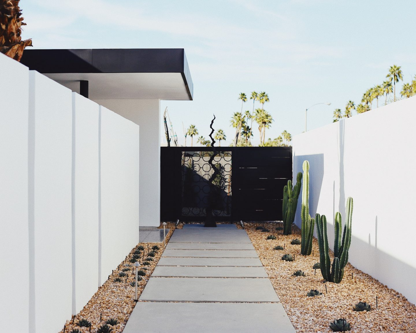 minimalist architecture front entrance